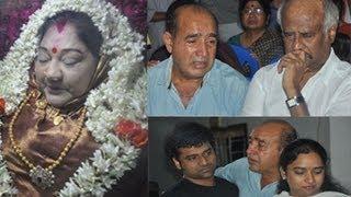 Actress   Manjula Vijayakumar   Last Journey   Photos