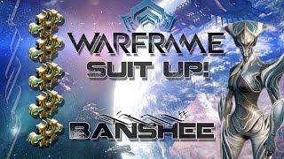 suit up warframe e16 banshee