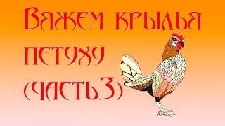 Вяжем крылья петуху (часть 3)