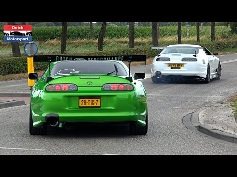 Modified Cars Leaving a Car Meet! – 800HP Supra, Skyline, RX7, Cupra, Silvia, Chaser…