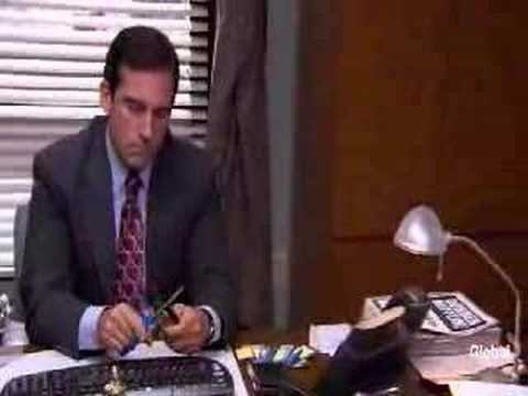 The Office - I declare bankruptcy! Michael Scott