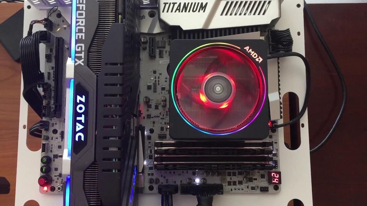 Wraith Prism RGB Cooler - Ryzen 7 2700X
