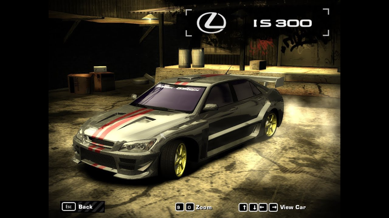 need for speed most wanted [2005] lexus is300 [hd] - youtube