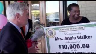 PCH $10,000 Winner – Annie Walker