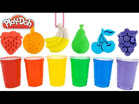 Best Learning Colors Video for Children with Paints & Fruit Molds Fun & Creative for Kids RL