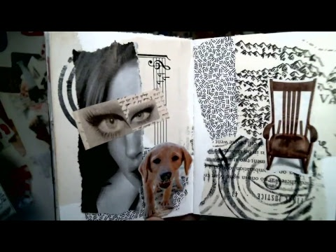 Collage Pages in Shannon Green's Custom Keeper Again  102  recorded Live Stream