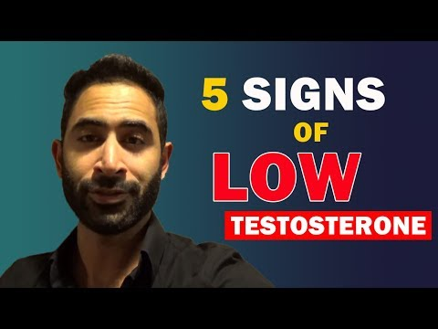 5 Signs You Have Low Testosterone