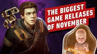 The Biggest Game Releases Of November 2019