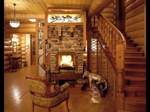 Деревянные дома фото внутреннего интерьера - варианты дизайна