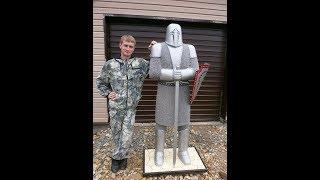 Скульптуры из монтажной пены Рыцарь(, 2015-08-31T18:17:47.000Z)
