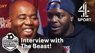 Robbie Lyle Interviews Adebayo 'The Beast' Akinfenwa!   The Real Football Fan Show