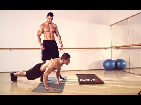 Nabratie svalov ruky a prsia - Rast sily a objemu