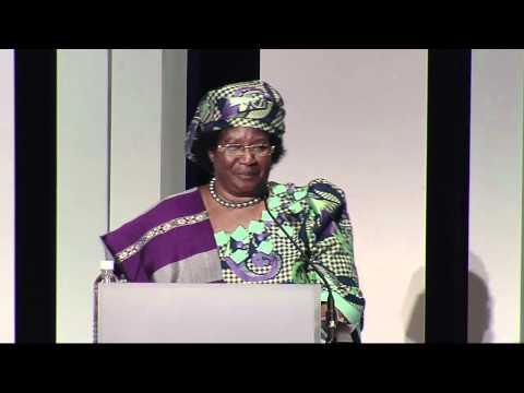 Keynote Address: Joyce Banda, President of Malawi