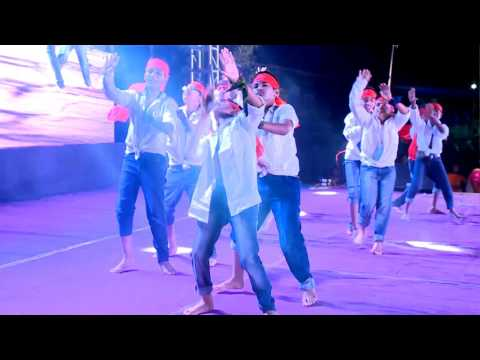 Kaike pan banaras wala dance performance on AGS 4th Annual day.