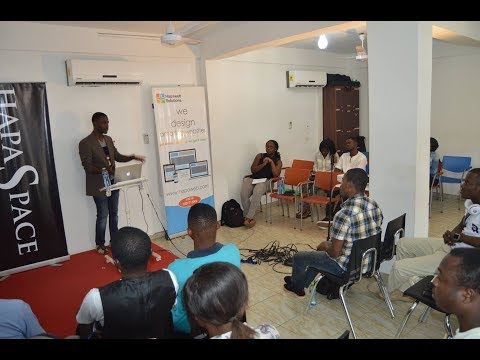 September edition of the Kumasi Tech Community monthly meetup. IOT skills for businesses