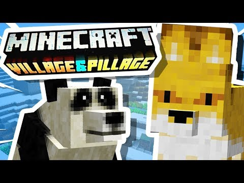 I Made Minecraft 1.14 (Village & Pillage) EARLY!!