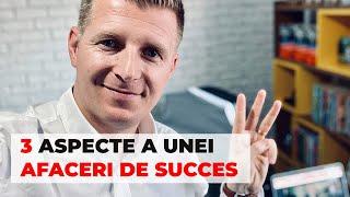 Cele 3 Aspecte Ale Unui Afaceri de Succes