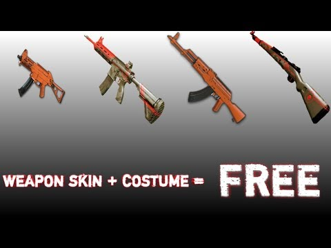 How To Get Free Weapon Finishes And Outfits || Pubg Mobile || INacTive.