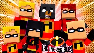 Minecraft INCREDIBLES - ADOPTED INTO THE INCREDIBLES FAMILY