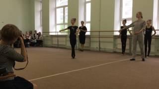 Открытый урок хореографии в художественной гимнастике часть 11