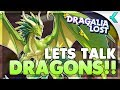 DRAGALIA LOST | Dragon System Detailed!!