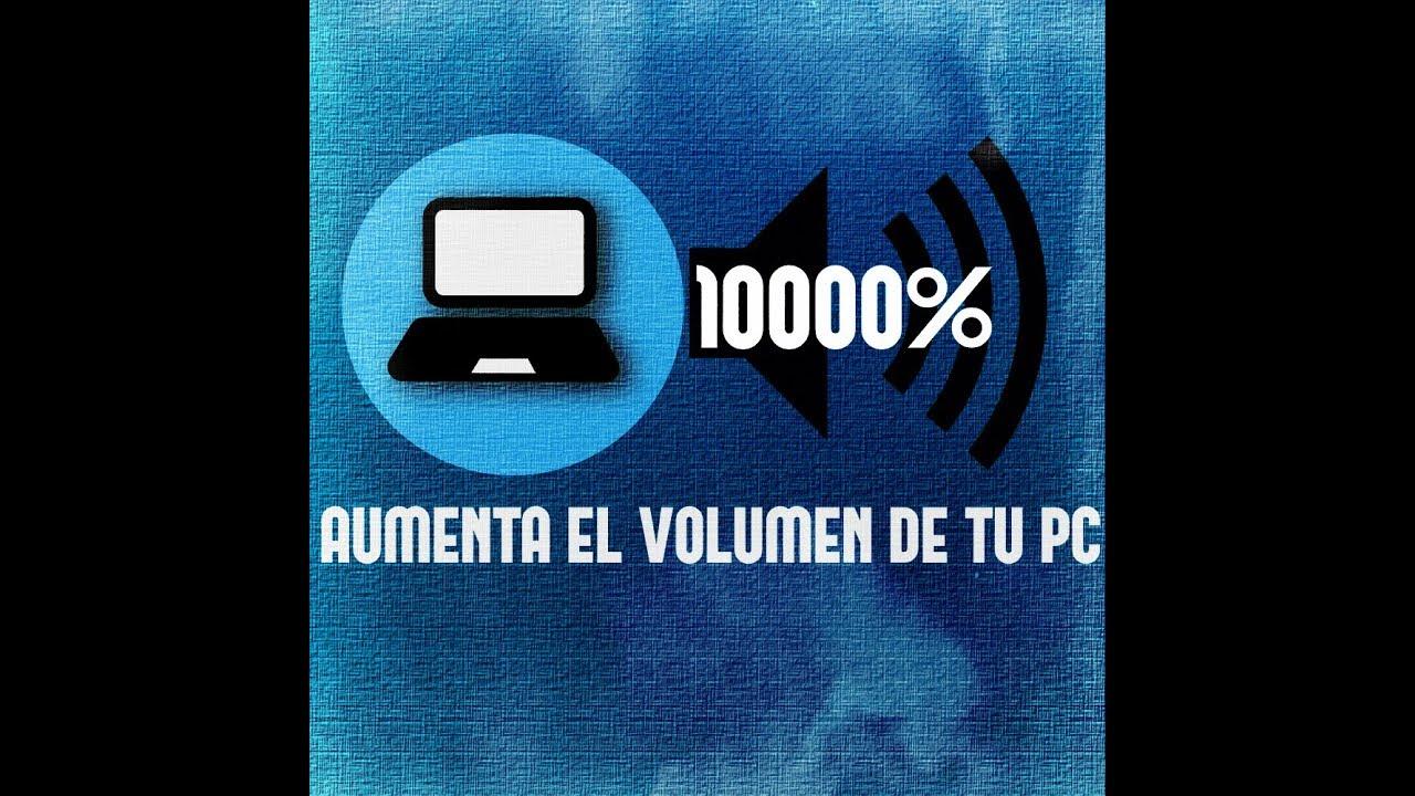 descargar aumento de volumen para laptop
