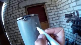 Как приварить заглушку на трубу (горизонтальный шов)(В этом видео буде глушить трубу горизонтальным швом., 2016-07-02T05:07:48.000Z)