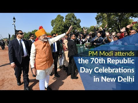 PM Modi attends the 70th Republic Day Celebrations in New Delhi | PMO