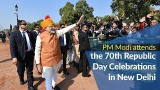 PM Modi attends the 70th Republic Day Celebrations in New Delhi | PMO