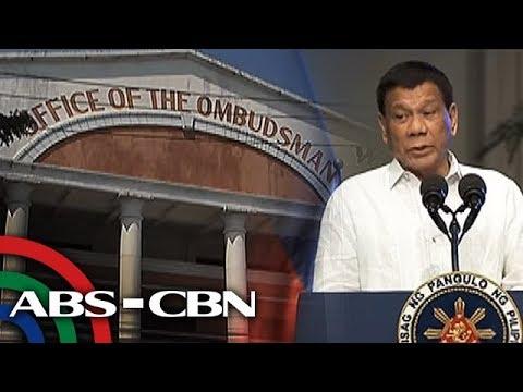 Bank transactions ng pamilya Duterte, iimbestigahan ng Ombudsman