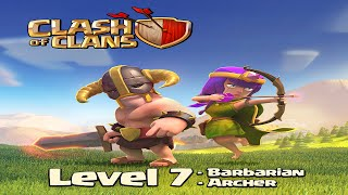 Clash of Clans UPDATE - Level 7 Barbarians and Archers Sneak Peek #2