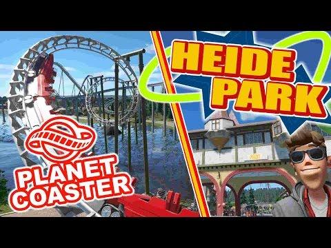 Heide Park Soltau: PARKTOUR!! - PLANET COASTER  | Let's Play