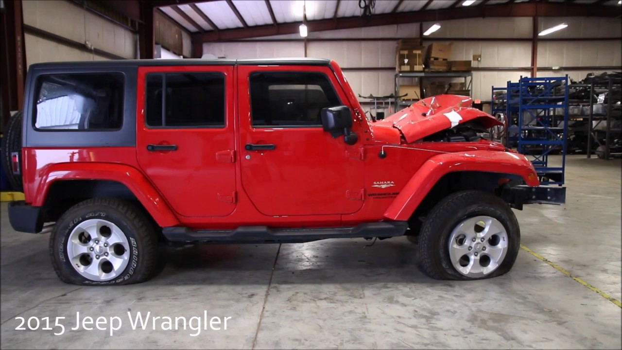 2015 Jeep Wrangler Unlimited JK Used Parts   YouTube