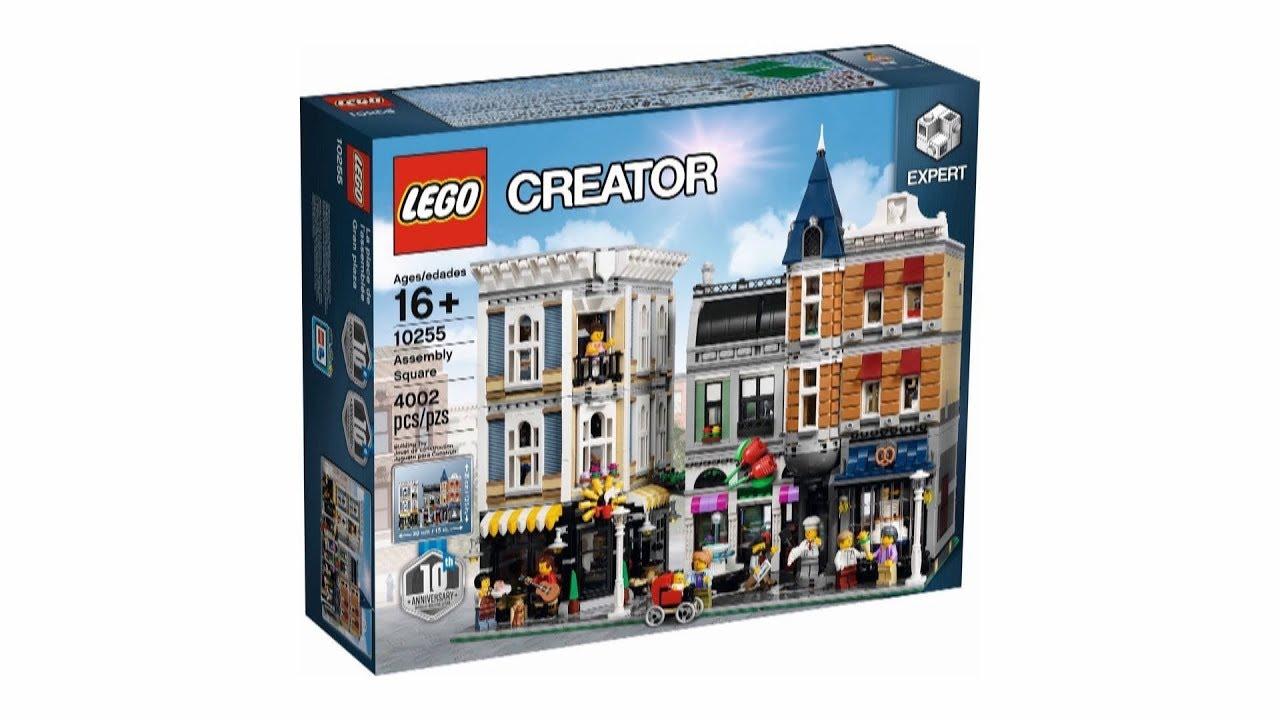 Lego Creator Expert 10255 Plac Zgromadzeń Youtube