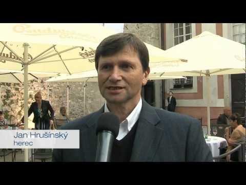 Jan Hrušínský podporuje kandidaturu Jana Fischera