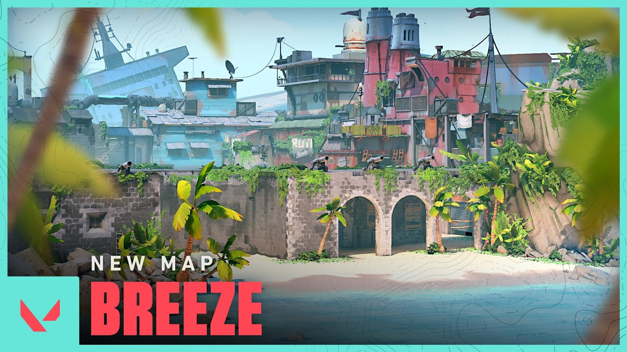 Arrive on Breeze // Map Reveal - VALORANT - YouTube