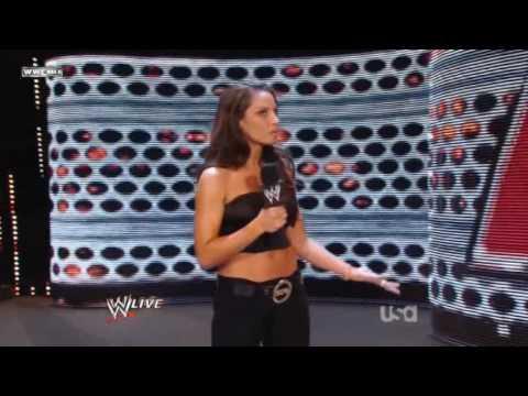 Trish Stratus Hosting Raw
