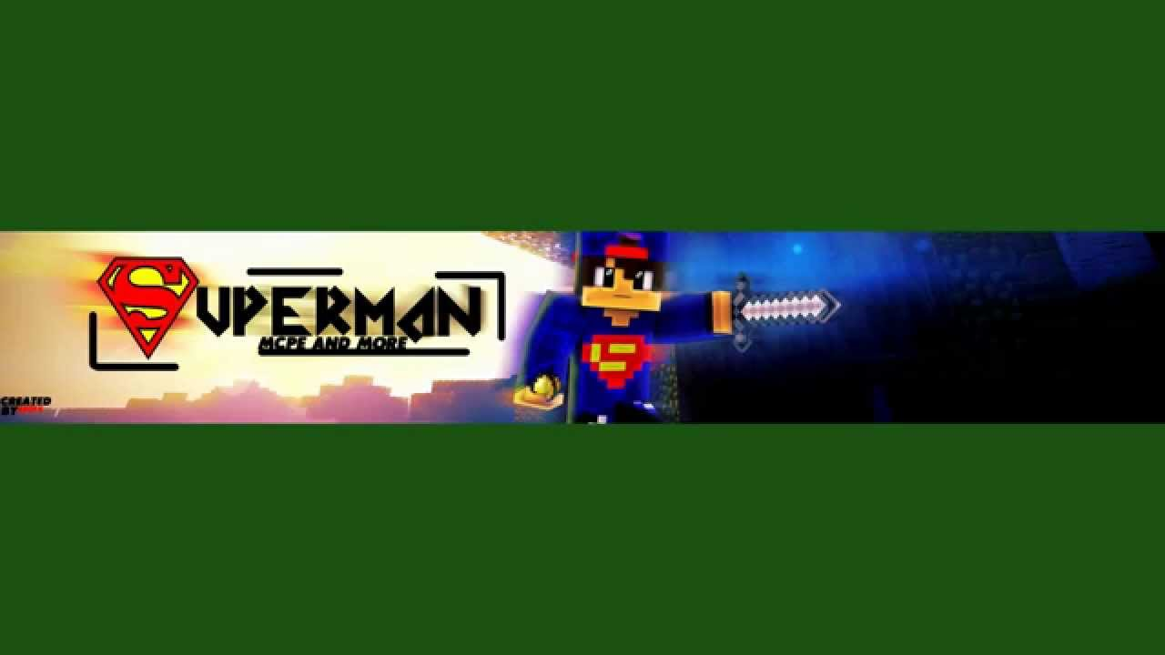 banner for superman