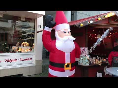 Gemünder (Eifel) Weihnachtsmarkt 2017 am Tag german Christmas market Gemünd (Eifel) impression