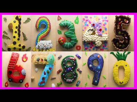 Como Hacer una Torta de Números / how to make cake of numbers