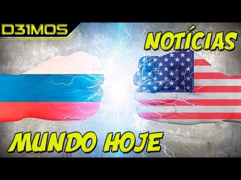 NOTÍCIAS DO MUNDO:  EUA VS RUSSIA?  TROPAS AMERICANAS NAS FRONTEIRAS!