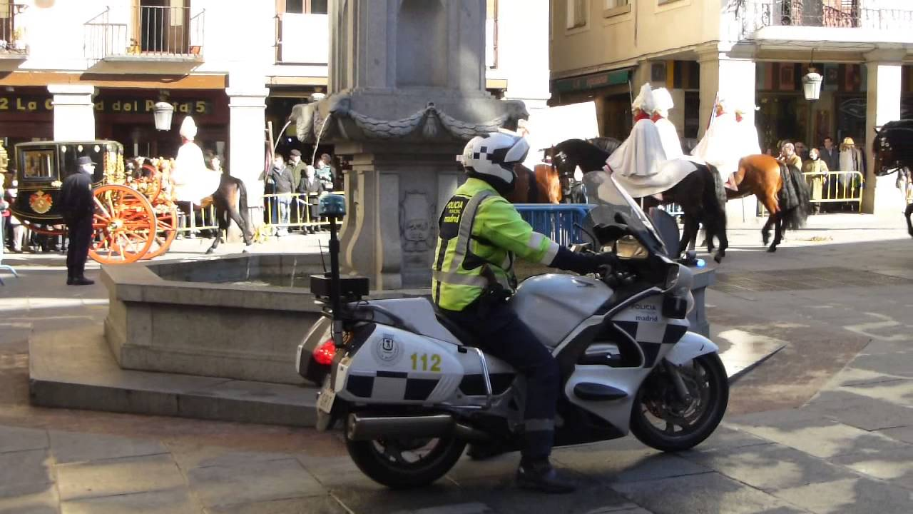 Moto Policia Municipal de Madrid - YouTube