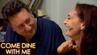 Danny Smears Chocolate Over Shira's Face | Come Dine With Me