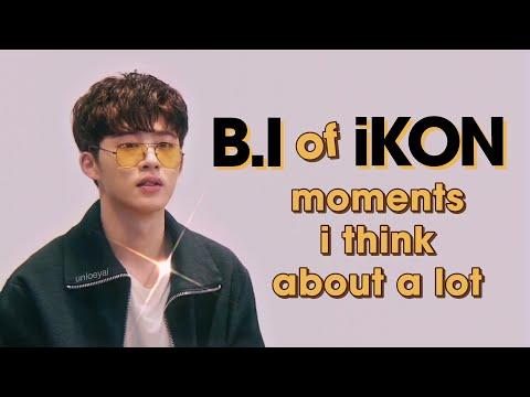Kim Hanbin (B.I) Of IKON Moments I Think About A Lot