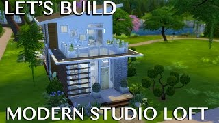 The Sims 4 Speed Build: Studio Loft(Finally a full let's build! I'm hoping to have one let's build/let's decorate or building collab up a week, along with my other videos of course. So let me know what ..., 2015-04-01T15:00:05.000Z)