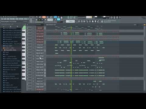 Côte d'Ivoire music style(coupé décalé instrumental) Fl studio prod by King's Soldier