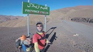 Marokko Radtour Teil 3  - Über den Hohen Atlas nach Marrakesch -