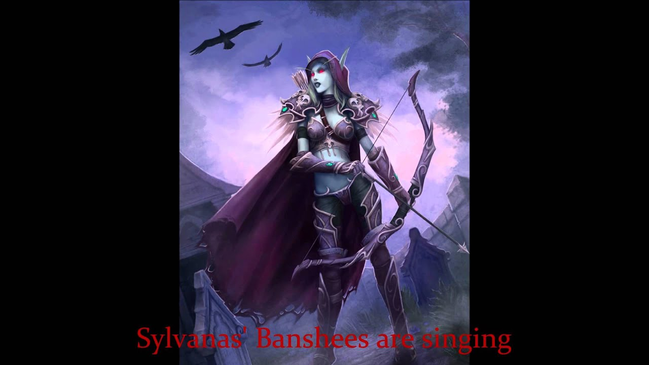 World Of Warcraft Wallpaper Hd Sylvanas Windrunner With Lament Of The Highborne Song