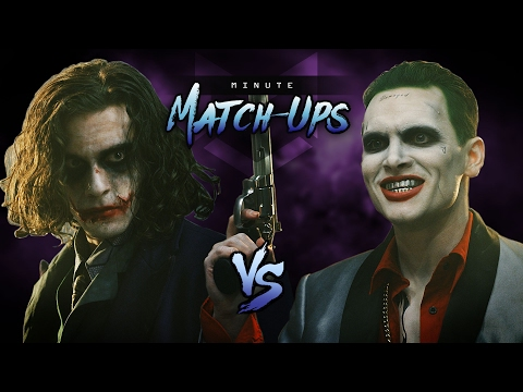 Thumbnail: JOKER (The Dark Knight) VS JOKER (Suicide Squad)