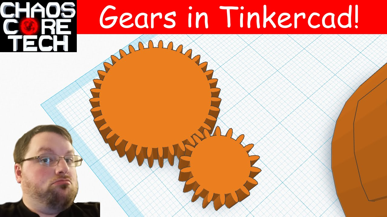 How To Make Gears In Tinkercad Youtube